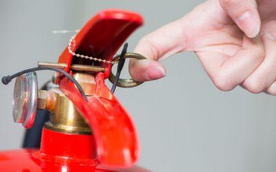 Cómo usar extintores de CO2