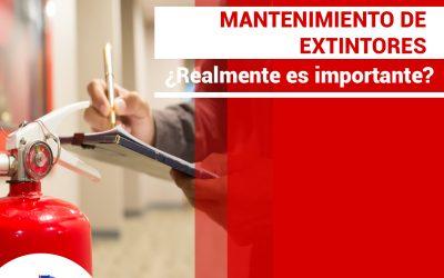 La importancia del mantenimiento de los extintores